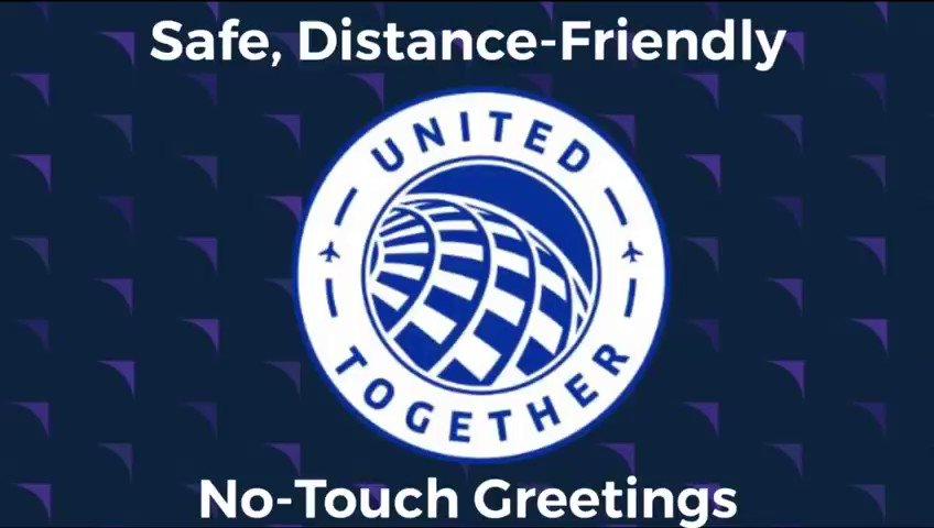 Social Distancing Greetings!!! What a nice job by The GUM Team! @DJKinzelman @JMRoitman @weareunited