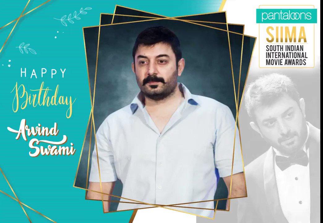 Wishing @thearvindswami a Very Happy Birthday #HbdArvindSwamy @pantaloonsindia