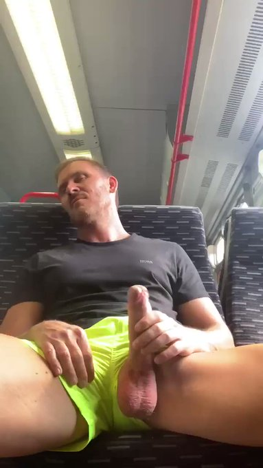 Just checking to see if the ticket inspector is coming 👀 https://t.co/juxhtfUhNK 🍆💦💦 https://t.co/IO