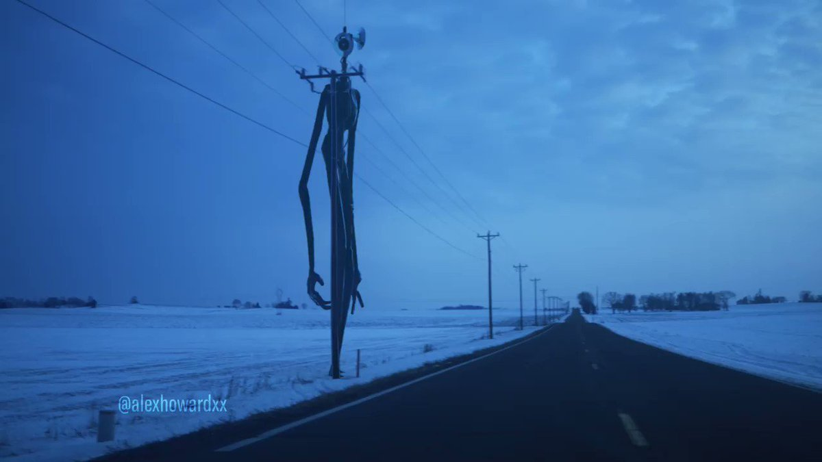 That's an awfully weird looking telephone pole #sirenhead