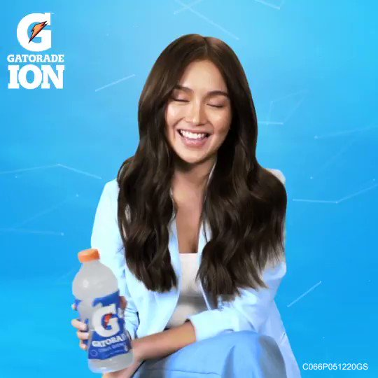 Say hello to #GatoradeIon's newest endorser - Kathryn Bernardo! Welcome to the family, Kath! #EverydayHydration  ASC Reference Number C066P051220GS