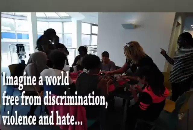 Imagine. #ACCSwansea #RefugeeWeek2020 #Imagine