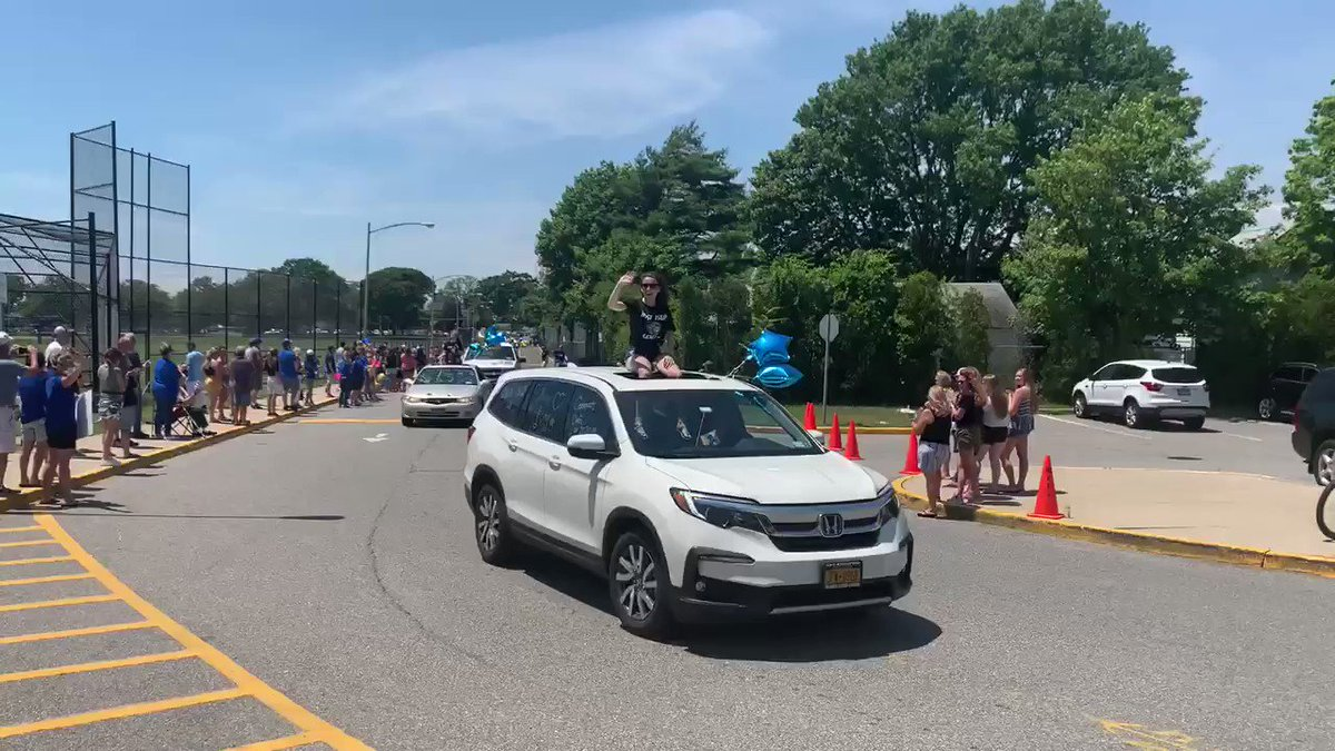 So proud of this! Congratulations to WIHS Class of 2020! Great day for a parade.