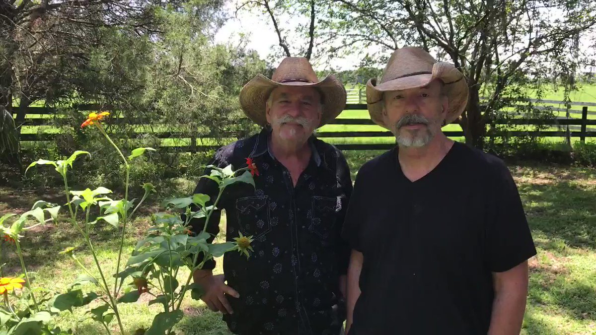 Were starting to safely get back on the road this summer. Keep checking BellamyBrothers.com/Tour for upcoming dates. Next stops: Florida and Texas 🎸🎶