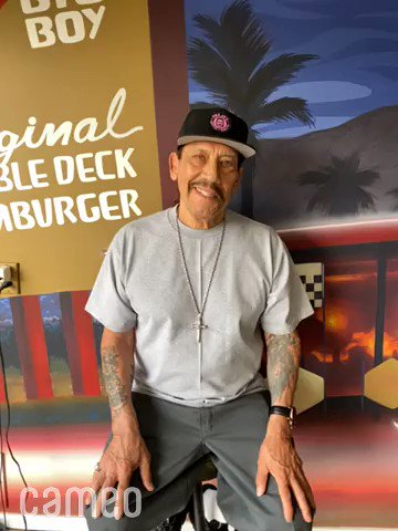 Today I had amazing Father's Day. Surprised my dad with a video from @officialDannyT   Thank you Danny Trejo! https://t.co/SnajnKN4SL