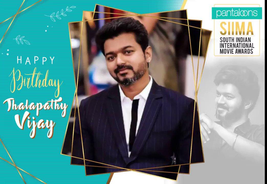 Wishing #Thalapathy @actorvijay a Very Happy birthday! #HBDTHALAPATHYVijay @pantaloonsindia