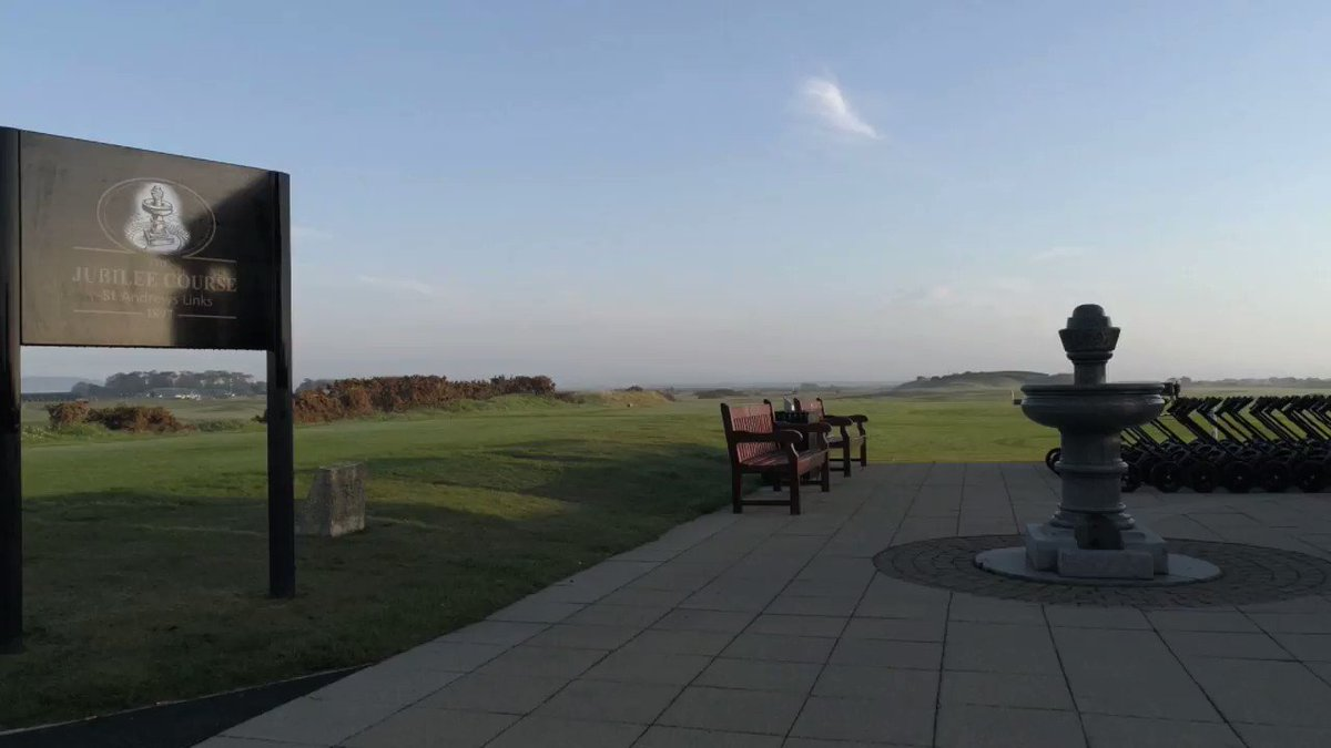 Starting the week with an anniversary... 123 years young today. #JubileeCourse