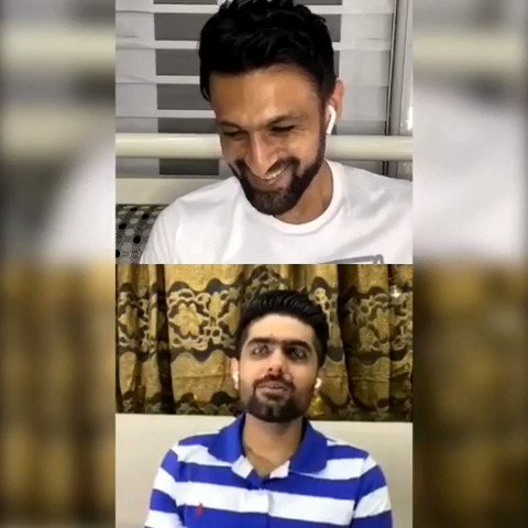 - Looks like you all enjoyed the latest episode of #ShoaibMalikLive with @babarazam258 as much as I did! Thanks buddy for making this an unforgettable chat; sharing some of my favorite moments now and working on the next episode.  Hope you all have a great week ahead! #Pakistan