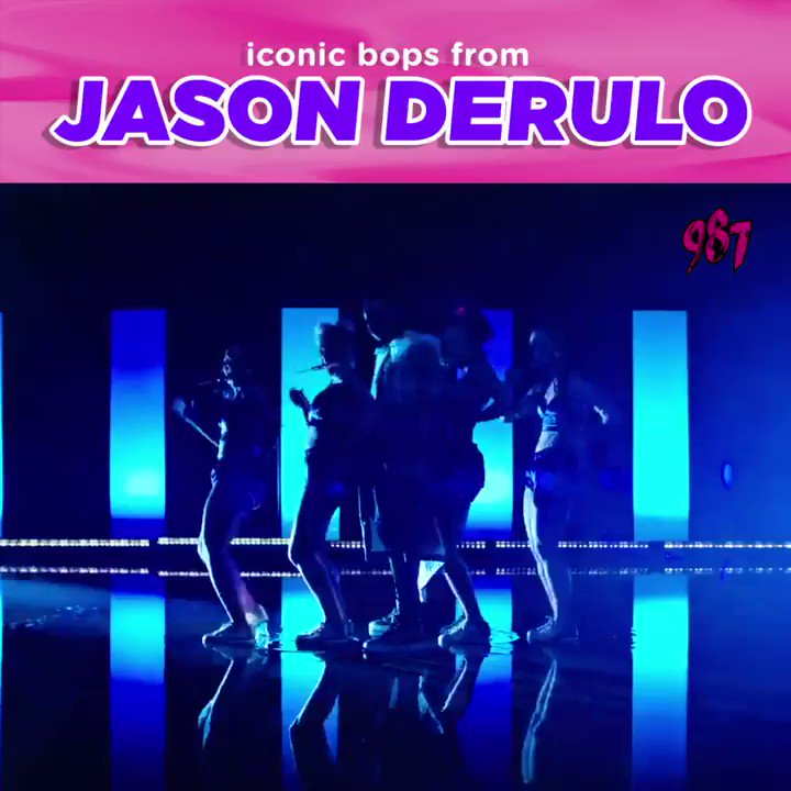Dont deny it, theres no way youre NOT singing his name. Heres a compilation of iconic bops from the one and only @jasonderulo~~ 🎤🎶 Which track of his is your favourite? Tweet us!