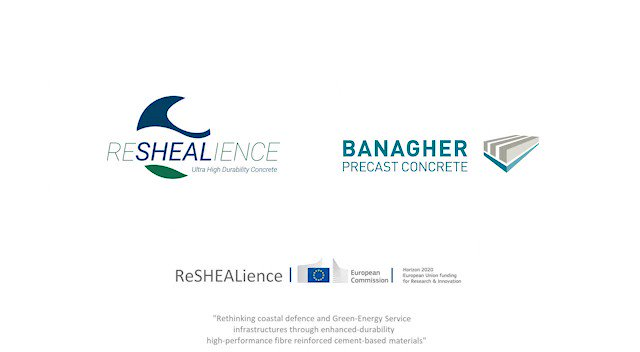 Image for the Tweet beginning: Our #ReSHEALiencePilot5 made by @BanagherPrecast