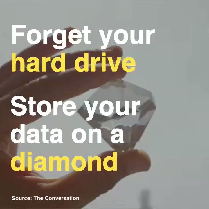 Image for the Tweet beginning: 💎Forget hard drive & store