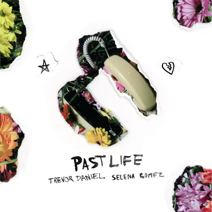 Fizzing to hear the new @Iamtrevordaniel & @selenagomez tune '#PastLife' out this Friday! 🌼🌼