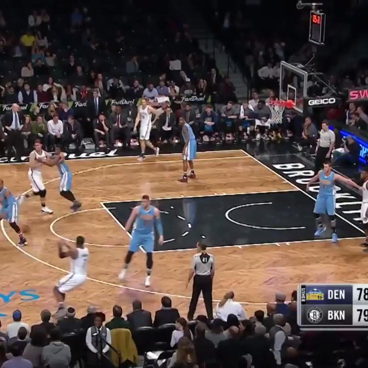 (2016) Joe Johnson ends the 3rd with an ankle breaker and the game with a buzzer beater three. Sheeesh. 🥶