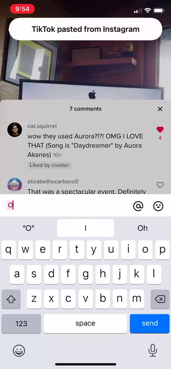 Okay so TikTok is grabbing the contents of my clipboard every 1-3 keystrokes. iOS 14 is snitching on it with the new paste notification https://t.co/OSXP43t5SZ