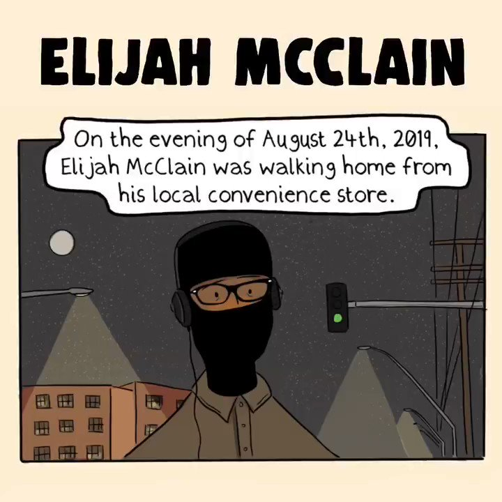 This is absolutely horrific. Where is the accountability? #ElijahMcClain