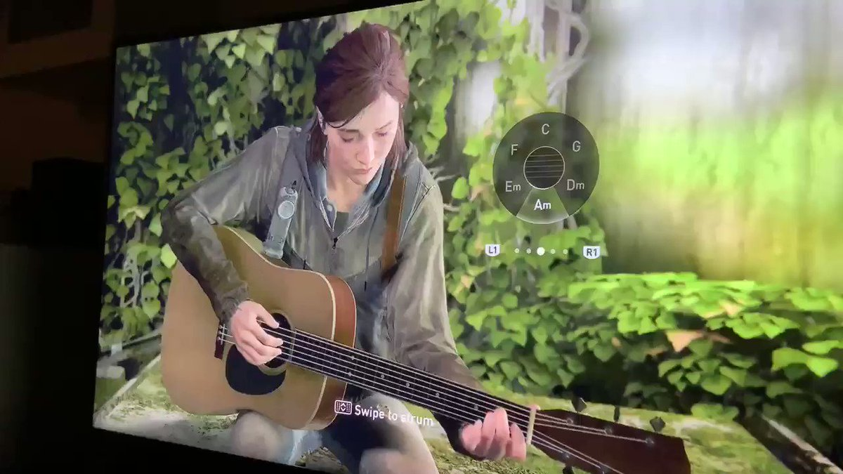 in my version of TLOU2 Ellie plays In Dreams to Dina and then they go buy a farm with the bank heist money the end
