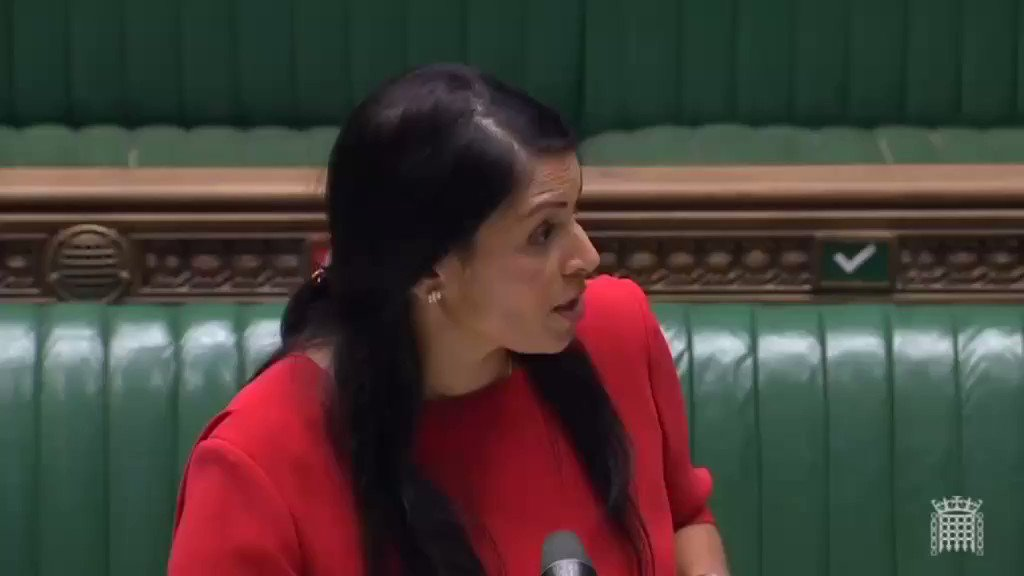 My question to the Home Secretary demanding justice for a Windrush constituent.