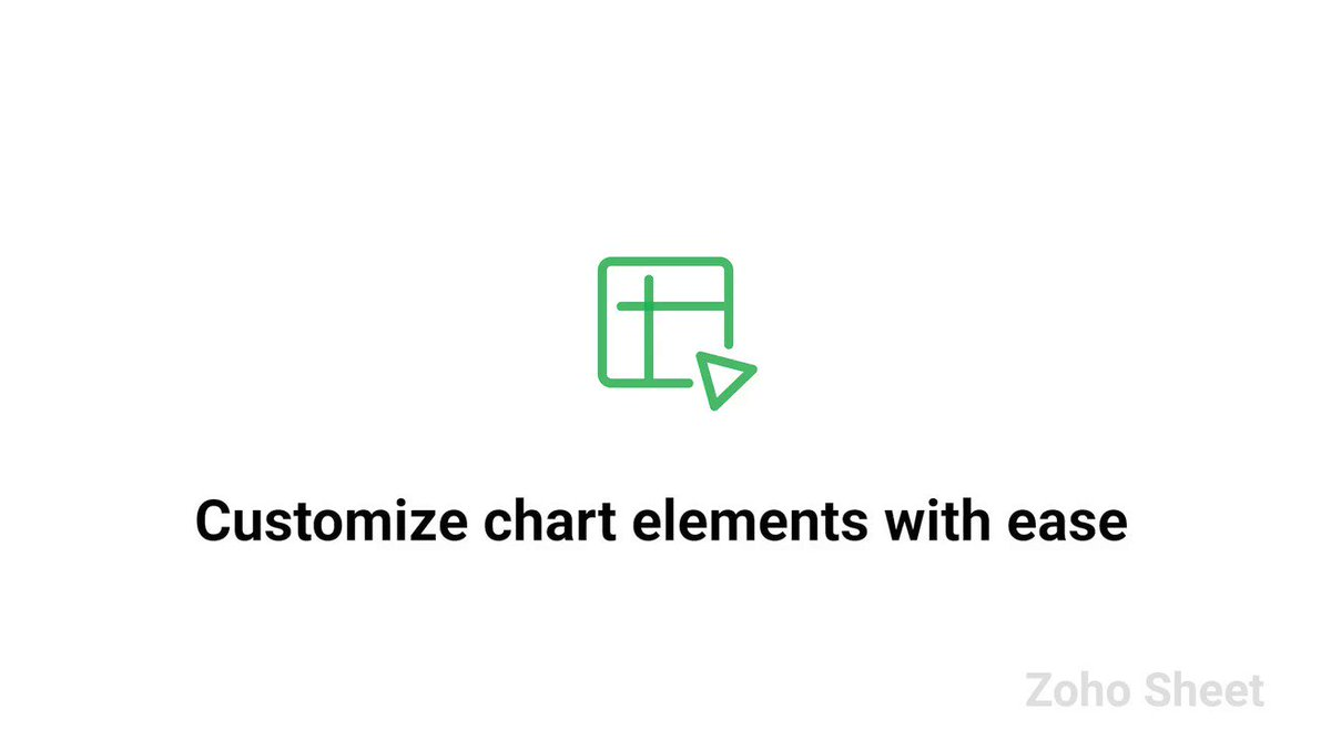 Image for the Tweet beginning: Customize elements like markers, data
