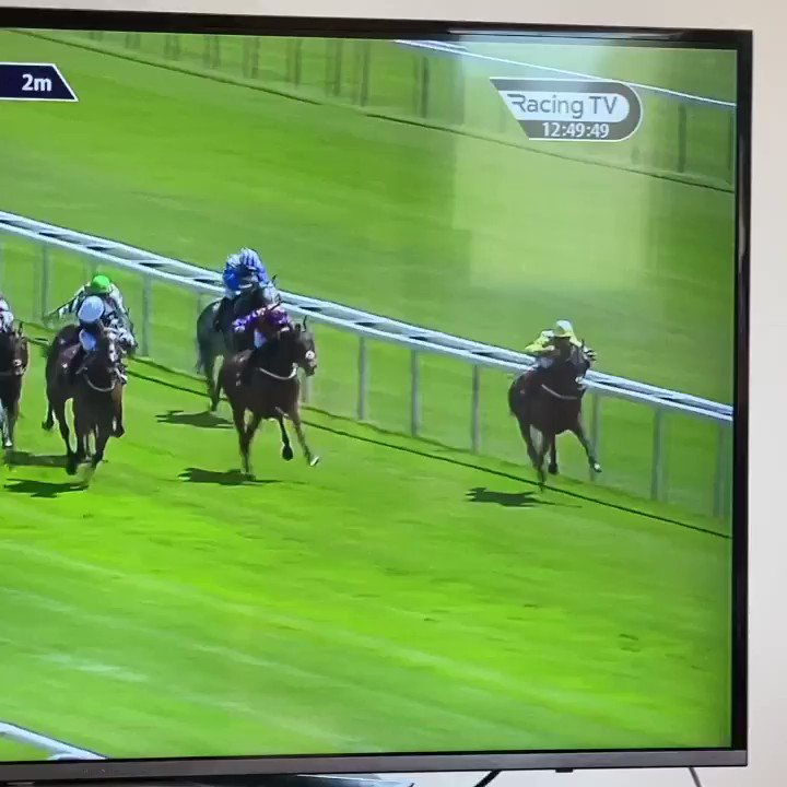 Solo Saxophone backs up last weeks win with another impressive performance @haydockraces under another cool ride from @PMulrennan . Well done to the team and owners @TGHRC @orient1881 🥂