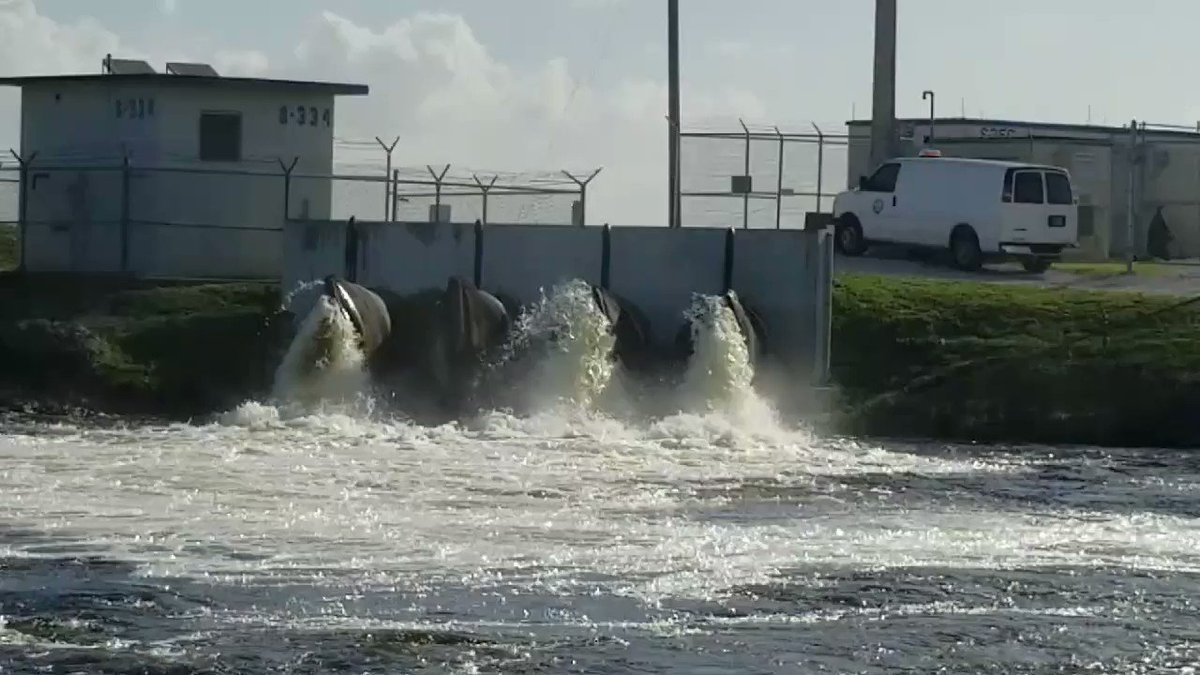 Moving water south at Tamiami Trail