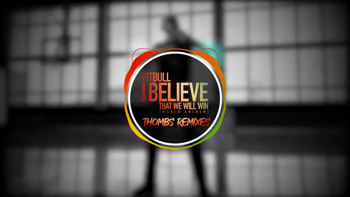 Get ready for the #ibelievethatwewillwin @thombsmusic remixes out tomorrow! mr305.ffm.to/thombs @Mr305_Inc @SabanMusicGroup