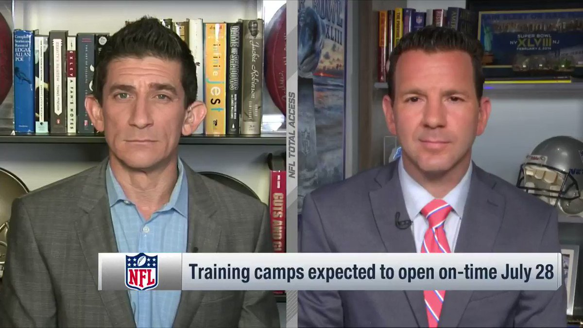 From @NFLTotalAccess: Training Camp definitely starts on July 28. But so much else must be decided...