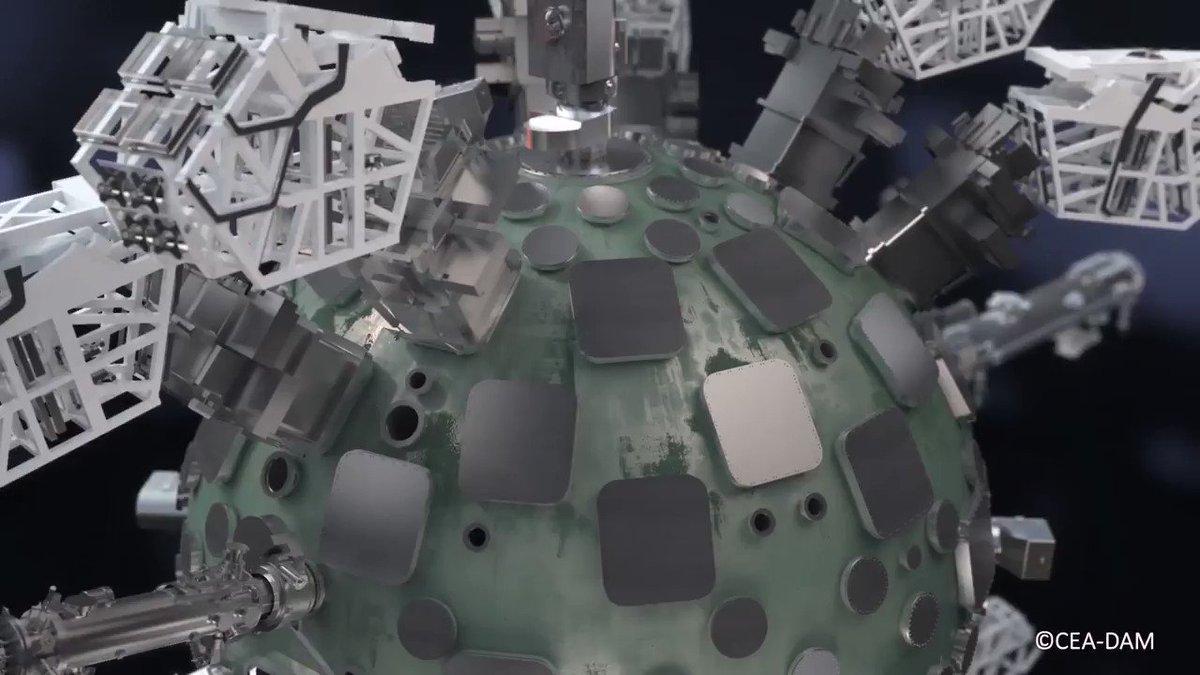 [#Recherche et #Défense] Première expérience de #fusion réussie pour le Laser Mégajoule ! 👏 Félicitations aux équipes de chercheurs du @CEA_Officiel auxquels les #ingénieurs de @Technicatome apportent assistance à l'ingénierie et  à l'exploitation
