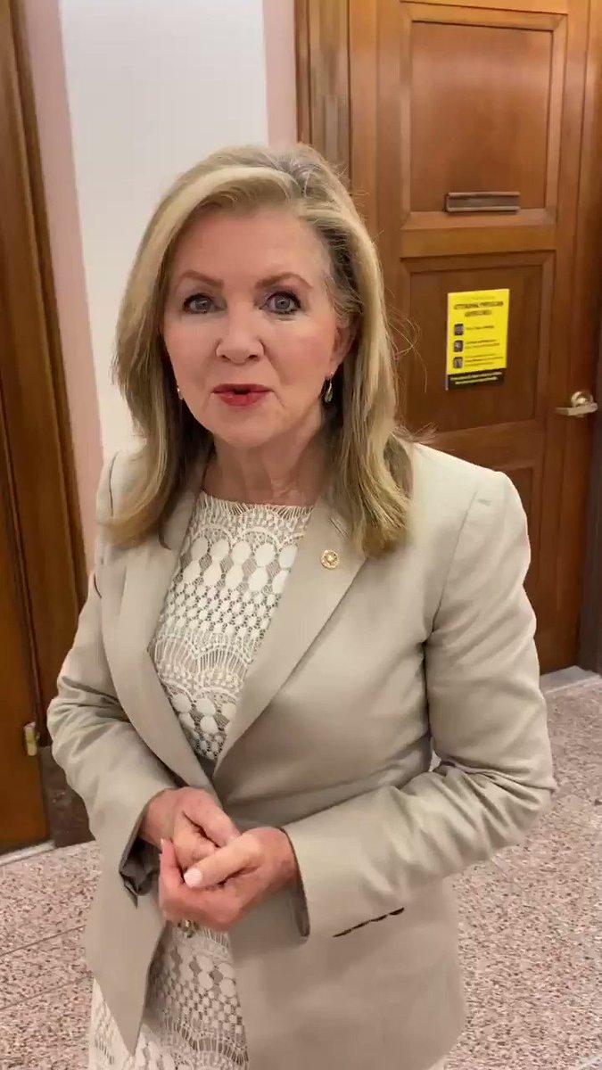 Sen. Marsha Blackburn (@MarshaBlackburn) on Twitter photo 26/06/2020 14:07:10