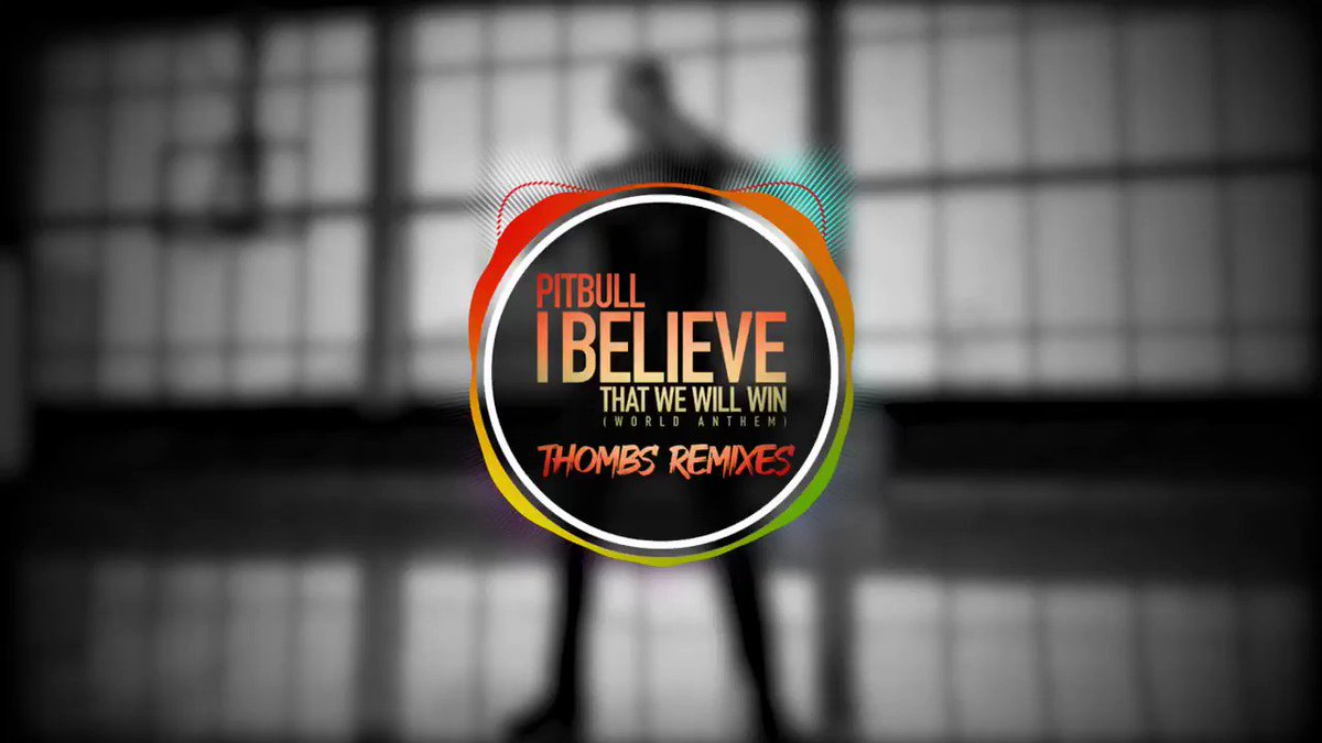 """Stay safe and dance this weekend to the """"I Believe That We Will Win"""" remixes by @thombsmusic out now! Dale. #ibelievethatwewillwin @Mr305_Inc @sabanmusicgroup Listen here: mr305.ffm.to/thombs"""
