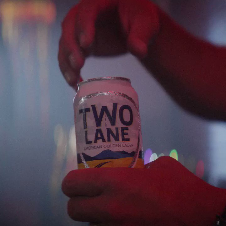 Grab yourself a cold one and get to enjoying the weekend. @TwoLaneBrewing #twolanelager