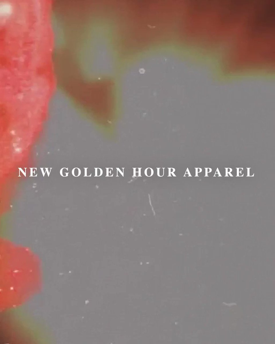 New Golden Hour merch is now available! Link below to get yours! Kygosgoldenhour.com