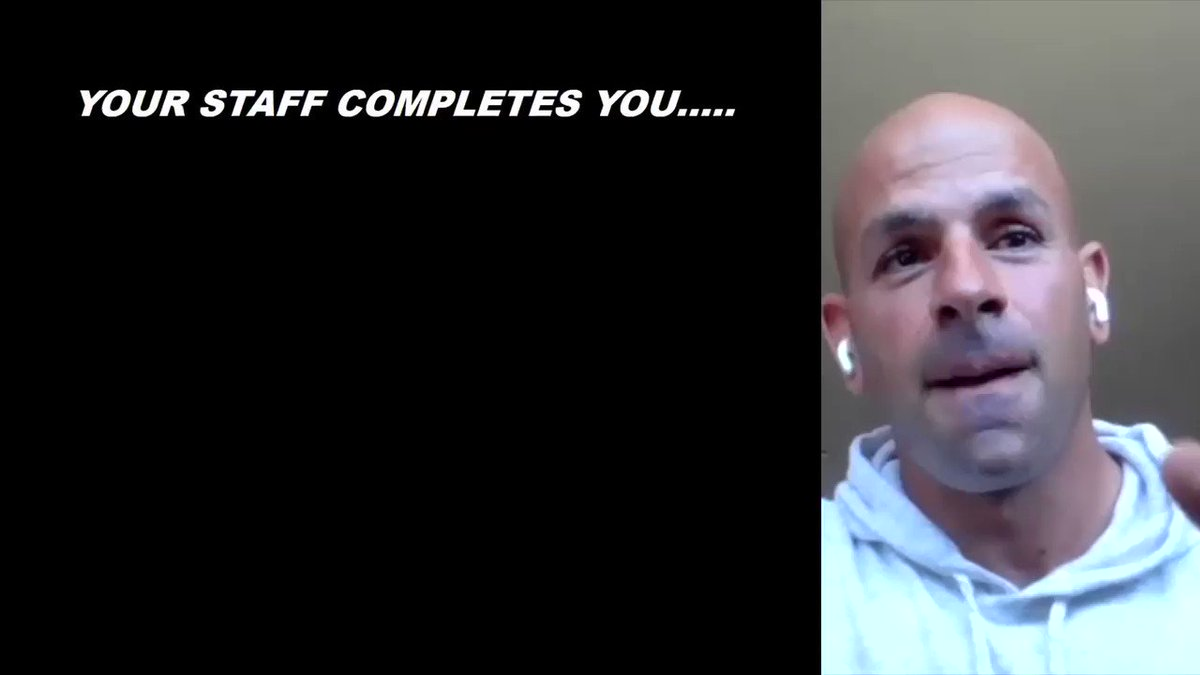 Robert Saleh spoke about what makes a good coaching staff at the QB Coaching Summit last year.  Now, he gets to put together his own.  #TakeFlight | @nyjets