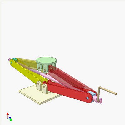 Gear and Linkage Mechanism