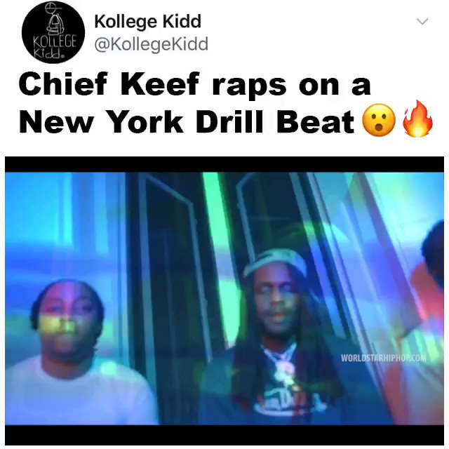 Sosa ripped a New York Drill beat 🐐🔥🔥