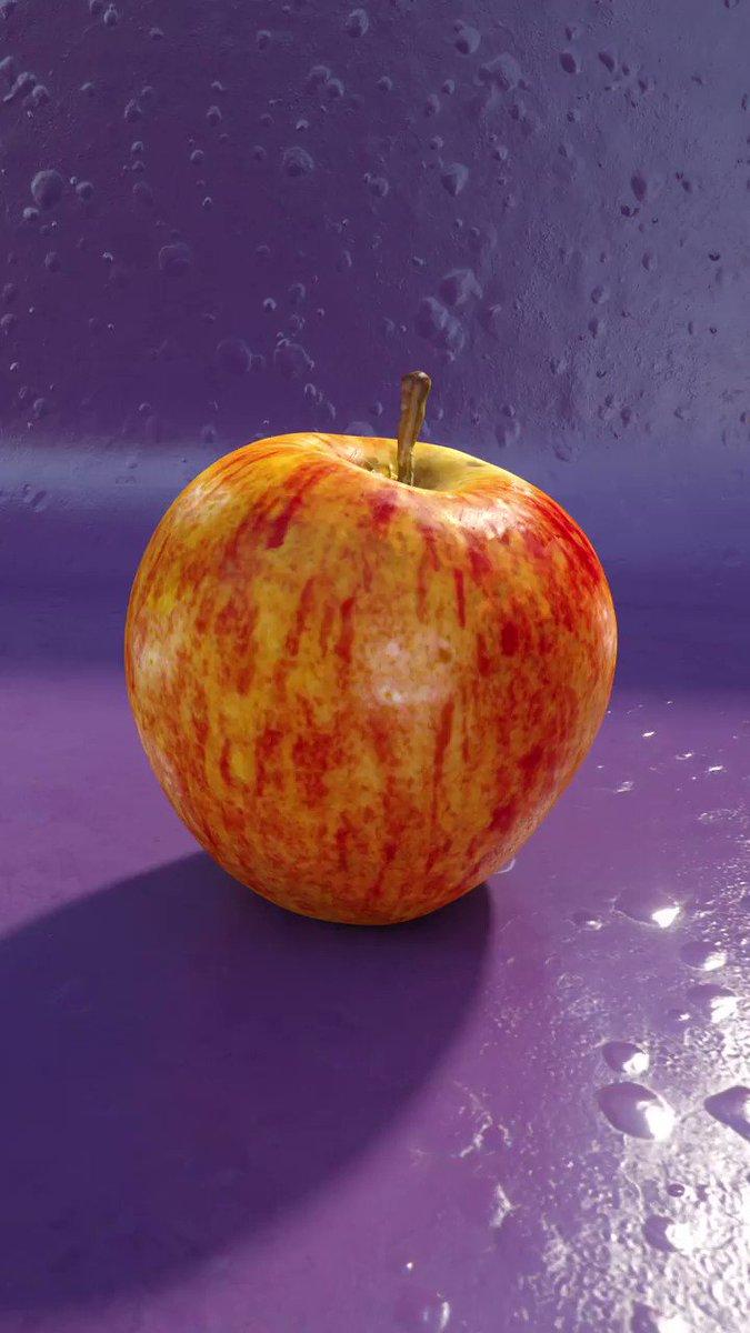 An apple a day... #apple #motiongraphics #3dart