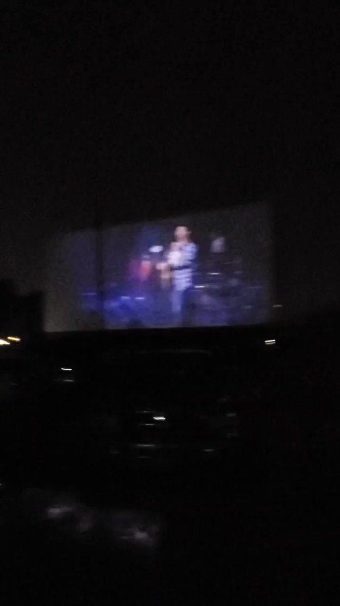 The River...the lights ❤🎸🤠 @garthbrooks #GarthDriveIn #garthbrooksdrivein in Ocala, FL