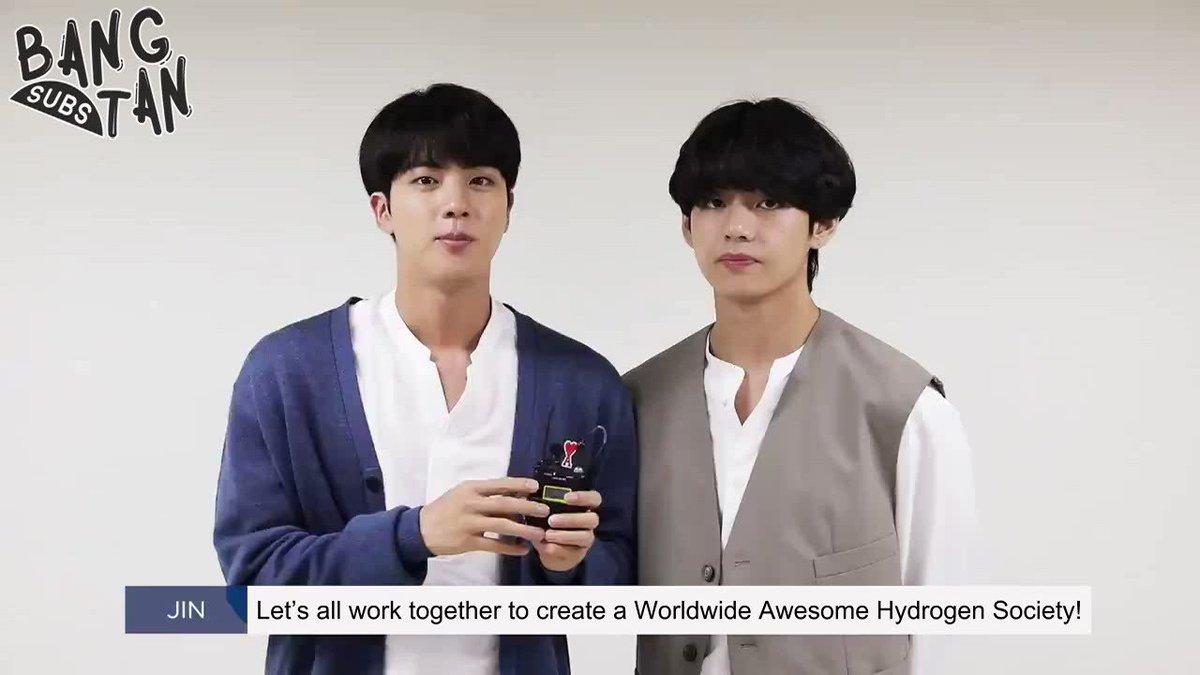 [ENG] 200624 Hyundai Japan X BTS - Jin & V © bts-trans / bangtansubs | @BTS_twt #BTS 🔗bangtansubs.com/videos/2020/6/…