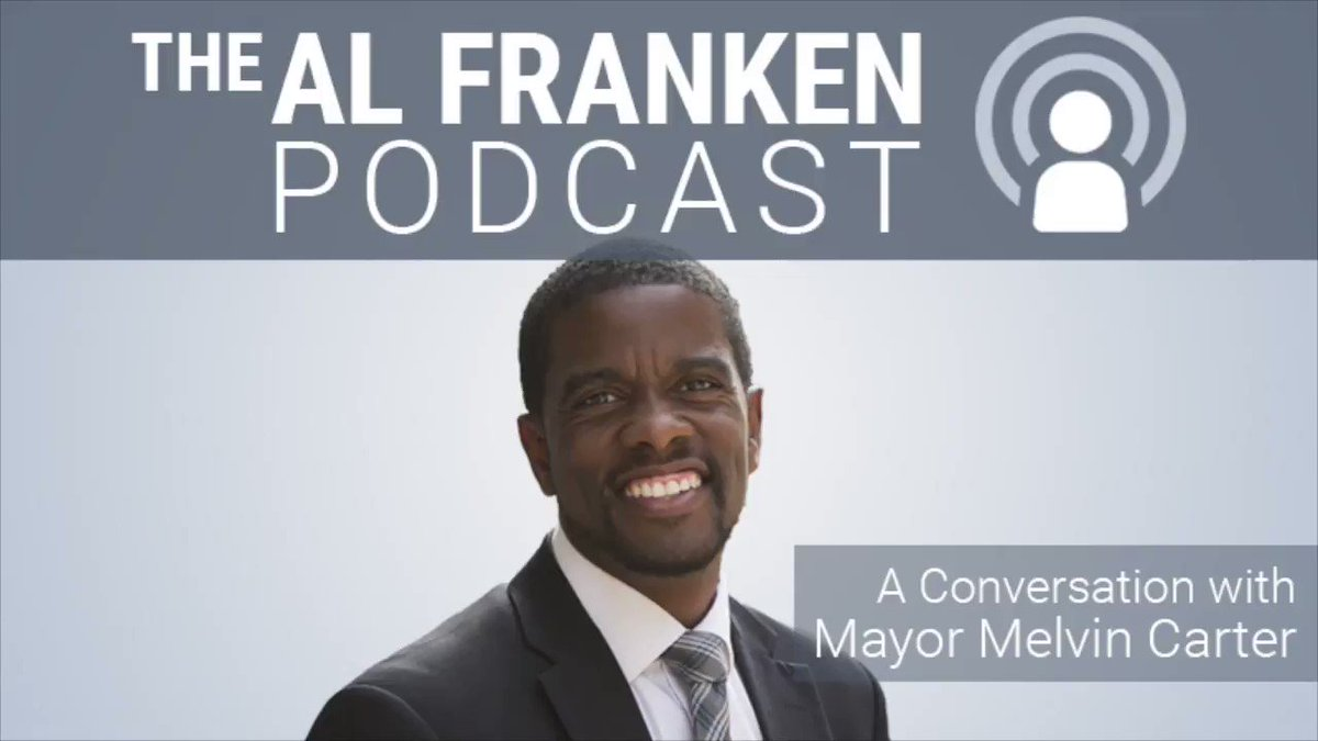 This week on The Podcast, a good one for a change! @melvincarter3, St. Paul's 1st Black mayor and the son of a cop, talks about race, police, systemic racism, and the legacy of slavery.  Subscribe to The Al Franken Podcast on Apple Podcasts: