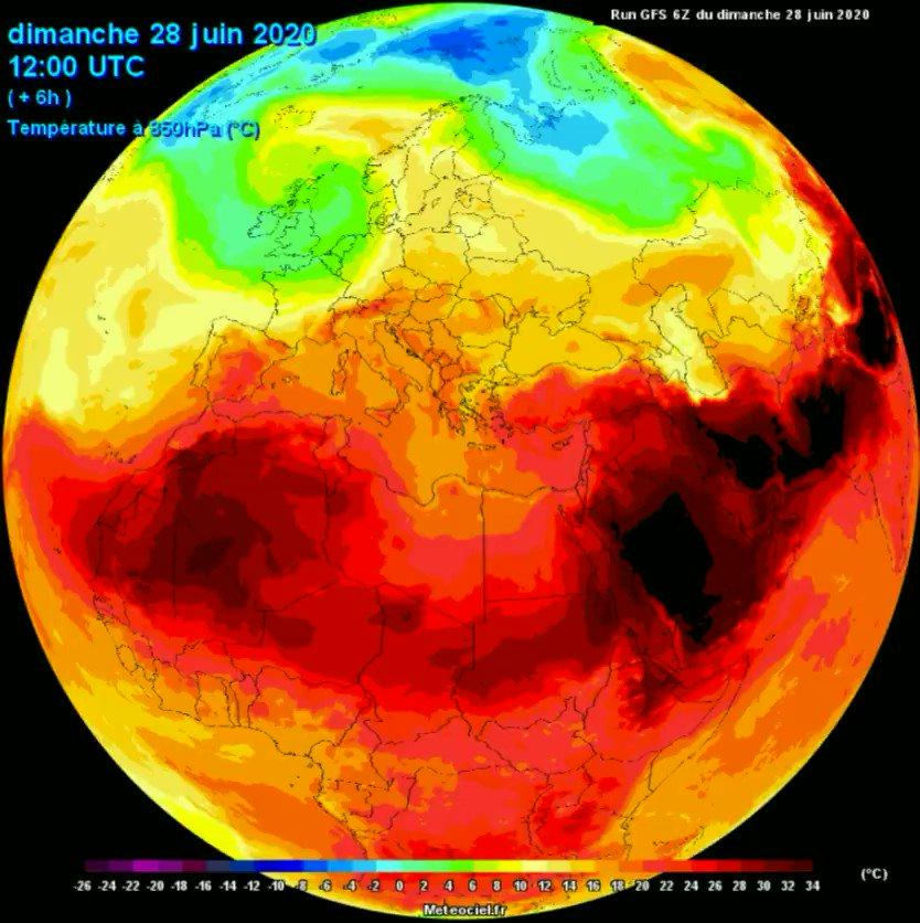 Μια μεγάλη καρδιά χτυπά , μια Γη αναπνέει Η ημερήσια κύμανση των θερμοκρασιών στα 850 hPa @News247gr @Deltiokairou