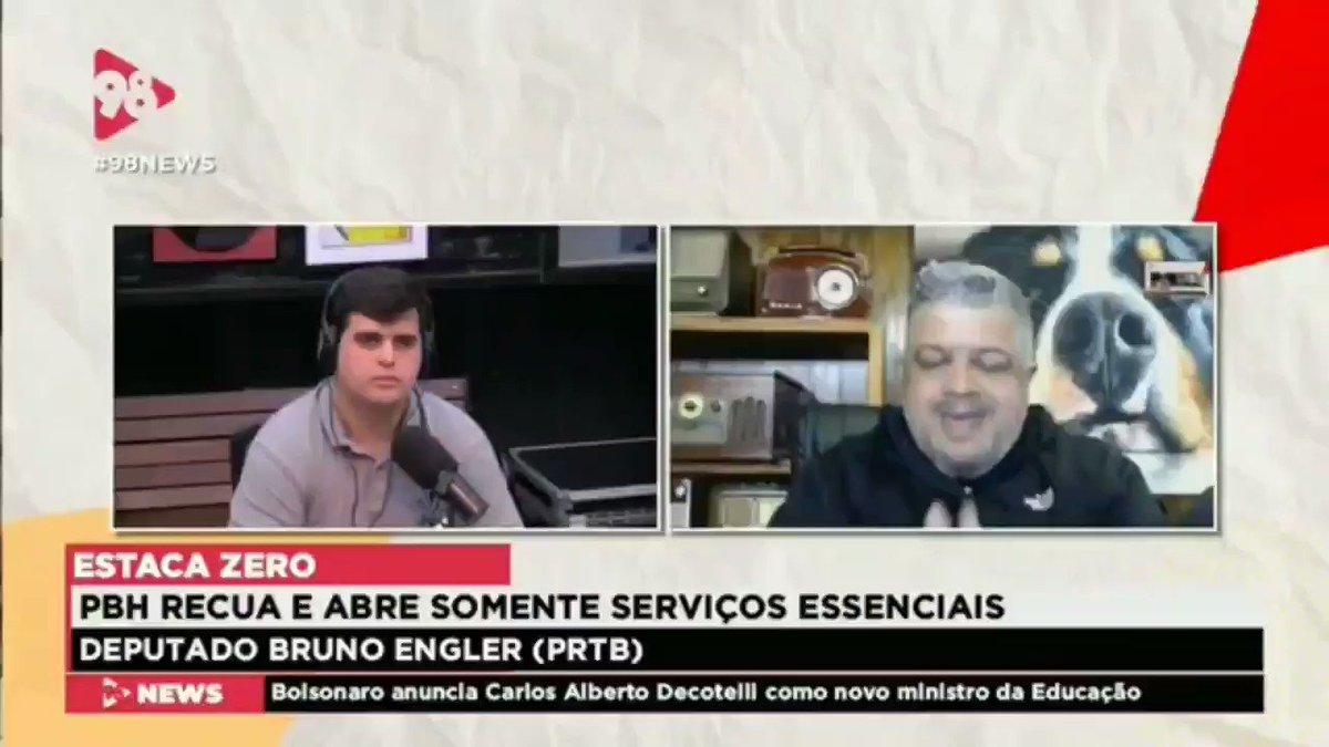 Discutindo LIBERDADE em tempos de pandemia, na @Radio98Oficial. #GoBolsonaroMundial