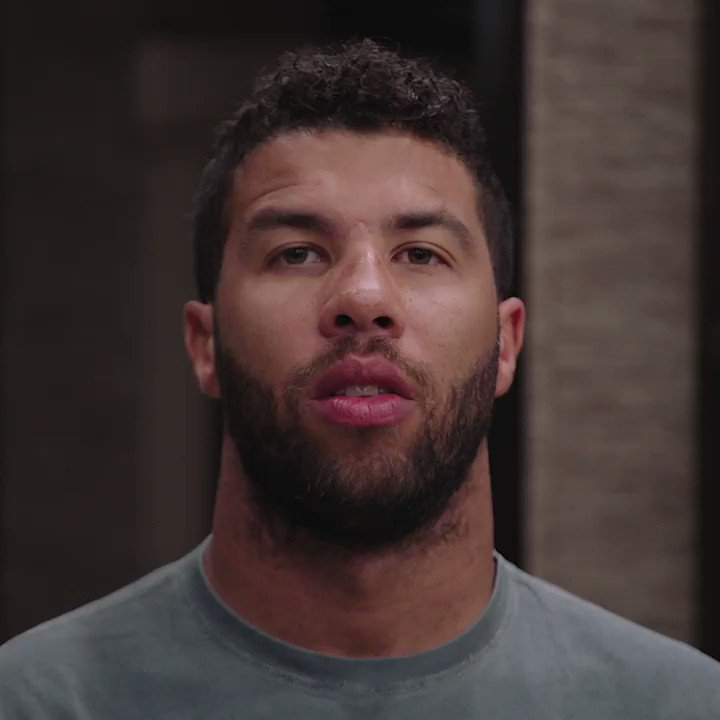 """""""You're not going to stop hearing about the Black driver for years"""" - @BubbaWallace"""