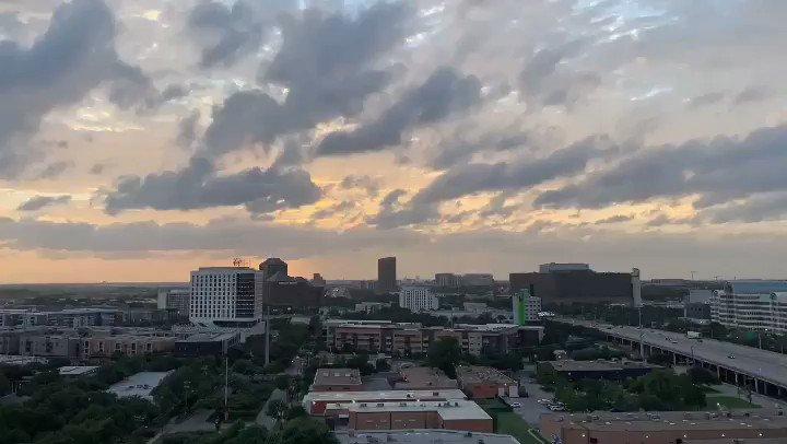 Sunday Sunsets 🌅 @FOX4 @GoodDayFox4 #sunsets
