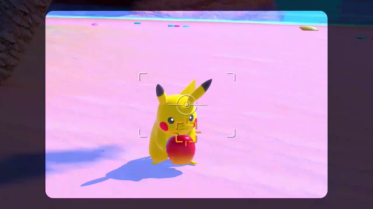 Pokémon. Love. Apples. 🍎 #NewPokemonSnap