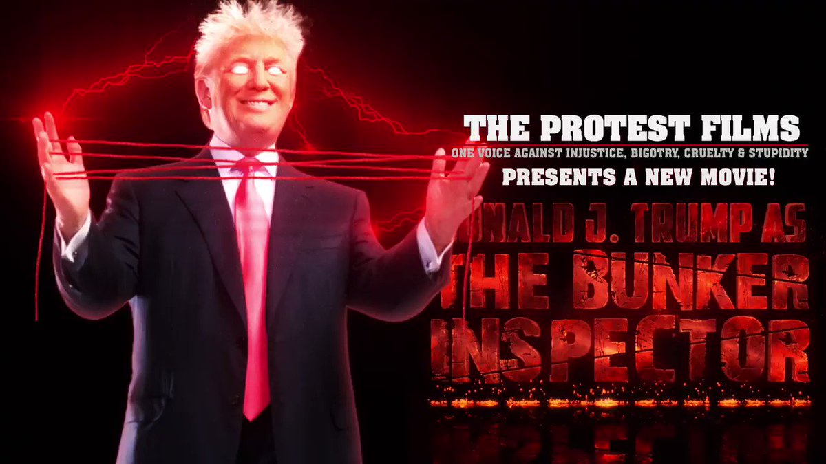 🎬 NEW VIDEO  What does November have in store for @realDonaldTrump?       The #BunkerInspector seeks the answer on his insane board of conspiracies. 📺Find out in this new video! Retweet with #TickTockTrump so he knows he has run out of time⏱️