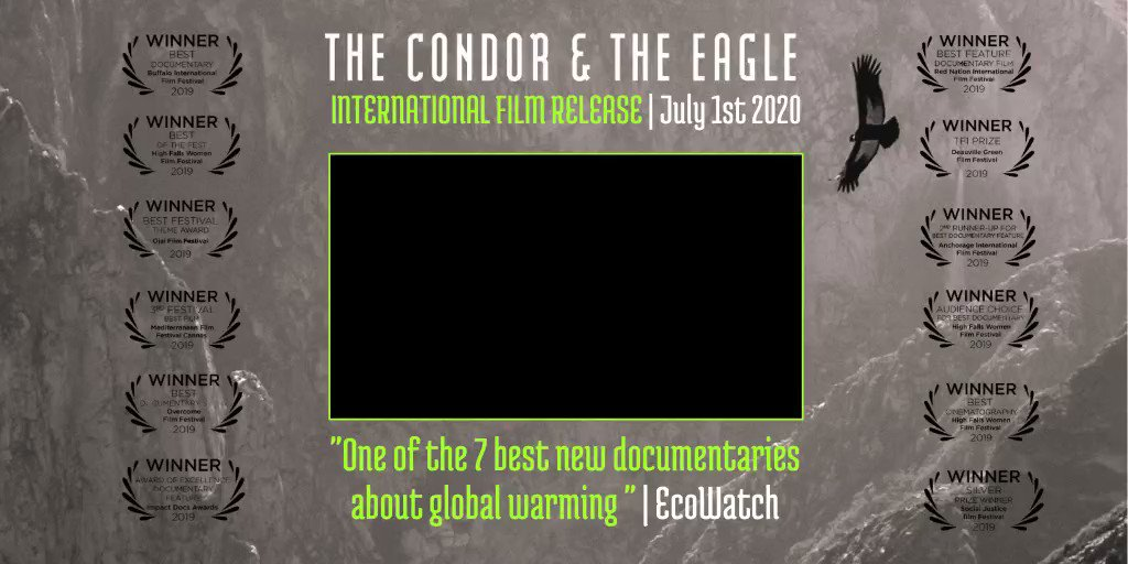 """This epic new film is mobilizing thousands across the globe on behalf of Mother Earth and her defenders. """"The Condor & The Eagle"""" is more than a documentary; it's a movement. Watch the film, join the movement and change your world!"""