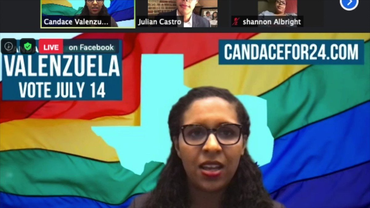 .@candacefor24 wants to bring New Yorks cash bail ban to Texas, even after it has led to murderers and rapists going free to prey on New Yorkers. #TX24 nrcc.org/2020/06/29/val…