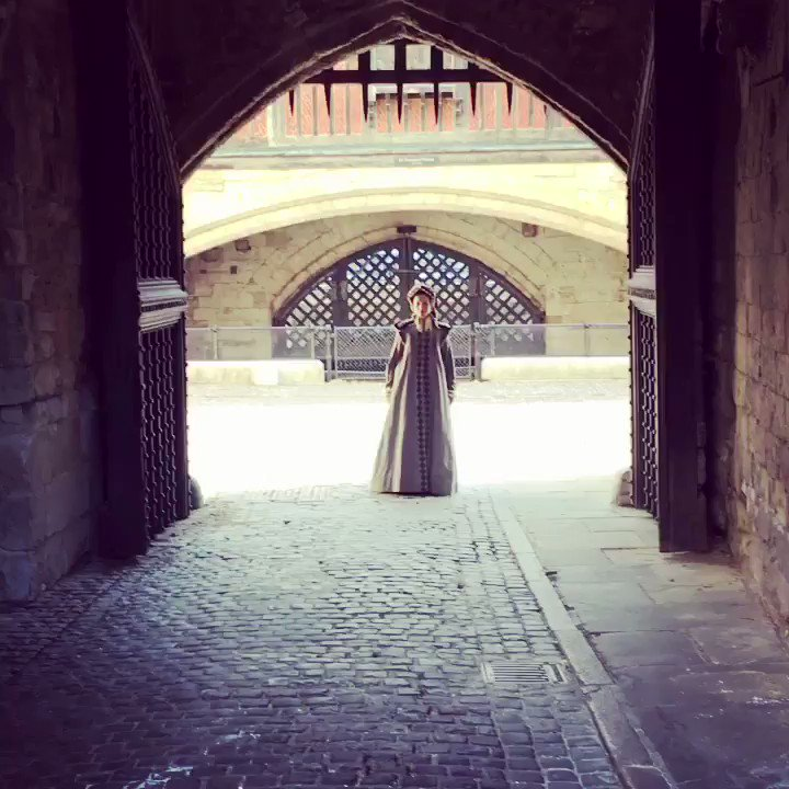 Reports are coming in from the Tower of London that the ghost of Anne Boleyn has been seen walking abroad beneath the shadow of the Bloody Tower.
