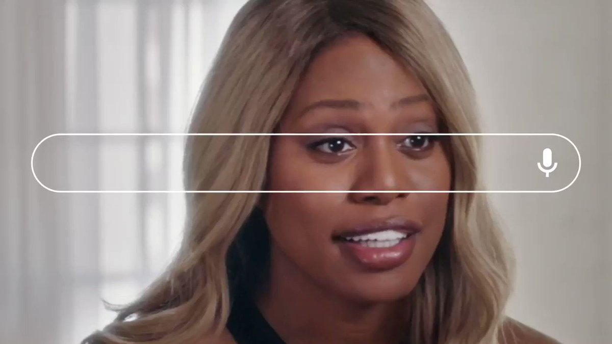 Searches for leading trans thinkers and creatives like @Lavernecox have been soaring. Cox currently stars in @netflix's groundbreaking @disclosure_doc, which gives an eye-opening look at transgender depictions in film and television → https://t.co/kvc1sgfHkL https://t.co/BF8JCCgqHa