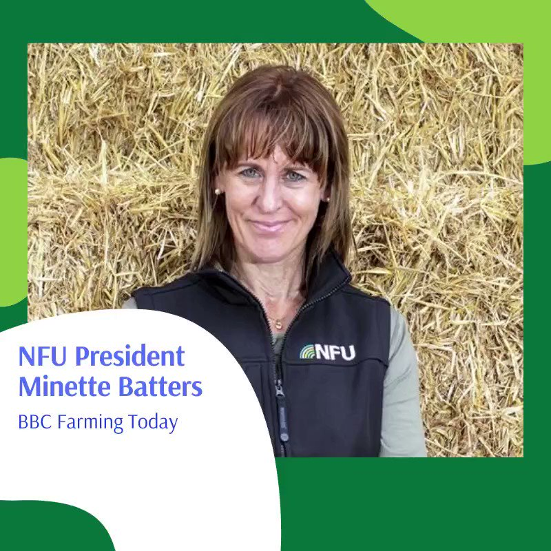NFU President @Minette_Batters tells @BBCFarmingToday that the creation of a Trade and Agriculture Commission means parliament will now have the facts to be able to assess the impact of trade deals on British farmers ow.ly/Fj5850AlEvE Listen from 9mins 35secs.