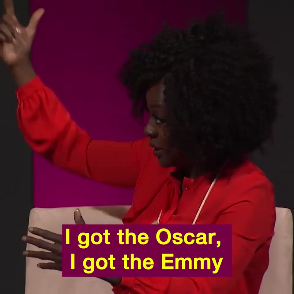 Viola Davis ain't playin with y'all. Someone give @violadavis her flowers. Queen.